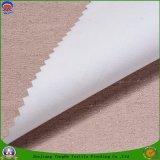 Tissu enduit imperméable à l'eau de rideau en arrêt total de franc de tissu de polyester tissé par textile