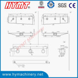 Macchina d'angolo idraulica di CuttingNotching di angolo variabile QX28Y-6X200