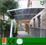 2017 Made in Shanghai Aluminio Doble Acristalamiento Carport