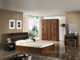 Bâtis de meubles de salle de séjour en bois solide de qualité (HX-LS010)
