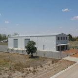 Hangar claro pré-fabricado do aeroporto da construção de aço do baixo custo