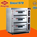 Alta calidad/buen tipo horno de la potencia 3-Deck 6-Tray de gas con Ce