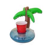 Minipalme-Pool-sich hin- und herbewegender Getränk-aufblasbarer Dosen-Halter