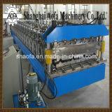 PLC steuern die Metall gewellte Dach-Blatt-Rolle, die Maschine bildet