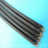 UL hittebestendige Vezel - glas Gevlecht Silicone Hars Met een laag bedekte Elektrische Sleevings 1.2kv