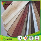 Bois ignifugé en bois embossé en PVC PVC Lvt Click Flooring