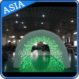 Traforo gonfiabile gigante per uso della festa nuziale, traforo gonfiabile di evento con gli indicatori luminosi