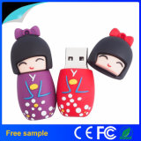 최고 승진 선물 일본 옷 소녀 USB 섬광 드라이브