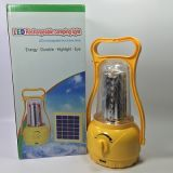 야영을%s Mergency 옥외 휴대용 태양 LED 손전등