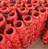 Accoppiamento del morsetto di tubo della pompa per calcestruzzo degli accessori per tubi edificio di Constriuction Dn125