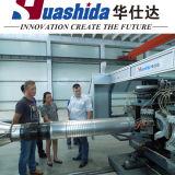 Plastik-HDPE doppel-wandiges gewölbtes Rohr, das Maschine (DWCP-500, herstellt)