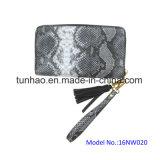Portefeuille de Van uitstekende kwaliteit van de Dames van de Manier van het Leer van de Koppeling Pu van het horlogebandje