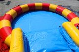 巨大な主題大きいプール(CHSL501-1)が付いている膨脹可能な水スライド