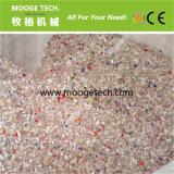 Frasco plástico do desperdício plástico rígido do HDPE dos PP do PE que recicl a maquinaria