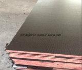 El fabricante hecho frente película de la madera contrachapada, película antirresbaladiza de Brown del envase hizo frente a la madera contrachapada