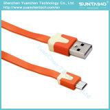 Цветастый быстрый поручая кабель USB для телефонов Android Samsung