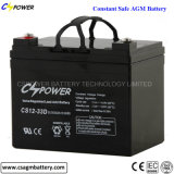 batterie Cspower CS12-33D de la batterie d'accumulateurs de batterie solaire de 12V 33ah VRLA