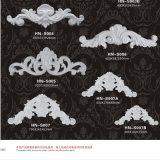 Applique ornemental d'unité centrale de moulages de polyuréthane et décoration Hn-S002 d'onlay