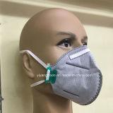 Mascherina a gettare piegata polvere Ffp2 con il carbonio del Active N95