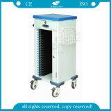 AG-Cht010 mit Qualitäts-Kunststoff-Krankenhaus-preiswerter geduldiger Laufkatze