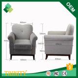 Cadeira européia moderna barata da faia natural para o apartamento do hotel