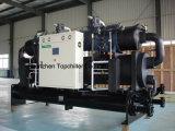 охлаженный водой охладитель воды компрессора винта 550000kcal/H