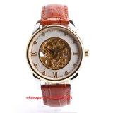 Gunineの革バンドFs454を持つ人のための方法寛大な機械腕時計