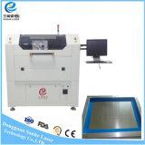 el corte del laser de la fibra de la alta precisión 50W100W estarce la máquina con la refrigeración por aire
