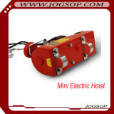 Электрическая лебедка одиночной фазы 220V/230V PA400 миниая с вагонеткой