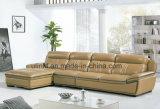 Самомоднейшая живущий софа угла кожи комнаты (HX-F609)