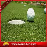 Синтетическая искусственная дерновина кладя зеленой травы гольфа Carpets циновка