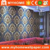 Preço material decorativo do papel de parede da flor da parede