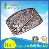Atacado Custom Made Fashion Seat Zinc Alloy / Brass / Western Metal Belt Buckle for Leather Belt