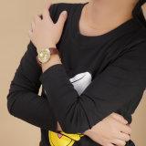 Casual Fashion Seriesダイヤモンド散りはめBelbiの女性革防水水晶腕時計