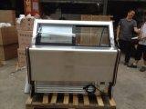 전시 유리 그릇 진열장 또는 단단한 아이스크림 기계