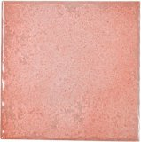 azulejo rústico esmaltado color de rosa de la porcelana del lustre de 100X100m m para la pared y el suelo