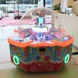 Het automatische Muntstuk stelde Toy Machine Du Du Le de Machine van het Spel van de Arcade van de Gift van de Dekking van de Vorm van de Bal in werking