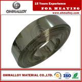 Стабилизированной сплав резистивности Ni70cr30 обожженный прокладкой для керамического резистора