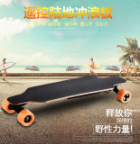 "Skate elétrico das rodas 2-Motor da forma 4/""trotinette"" elétrico estando"