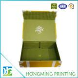 贅沢な習慣によって印刷されるFoldableカラーギフト用の箱