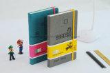 Cuaderno de cuero impermeable de encargo personalizado de la PU Moleskine