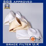 Poliestere dei tessuti del filtro/Nomex/filtro a sacco tessuto della vetroresina
