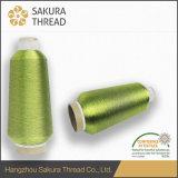 Polyester-metallisches Garn 100% für HauptTexiles