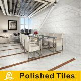 지면과 벽 Carrara 600X600mm (CAR6001/CAR6004/CAR6006/CAR6008)를 위한 Polished 백색 Carrara 돌 사기그릇 도와