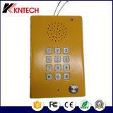 Stazione chiara blu del telefono esterno protetto contro le esplosioni Emergency del telefono del IP