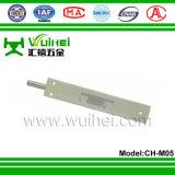 Boulon de chasse de porte en alliage d'aluminium avec noyau interne d'alliage de zinc avec ISO9001 (CH-M05)