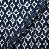 Hot Selling Diseño Vintage de moda las pestañas tela de encaje