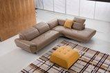 مريحة بسيطة لطيفة جلد أريكة يثبت لأنّ يعيش غرفة ([تغ-س12])