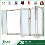 태풍 충격 외부 UPVC 비스무트 접게된 문 PVC 미닫이 문