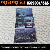 13.56MHzプログラム可能なツーリストのための習慣によって印刷される無接触RFIDの地下鉄のカード